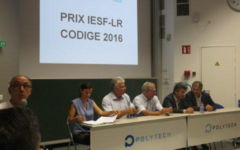 Remise du prix IESF-LR CODIGE 2016