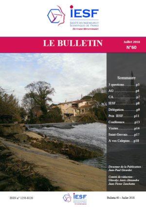 Bulletin IESF OM N° 60-Juillet 2018
