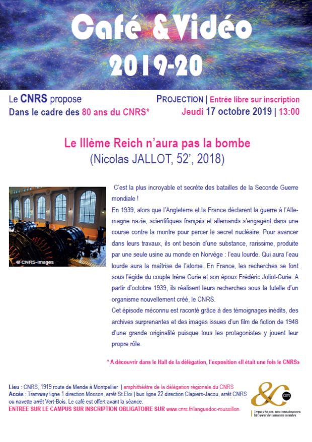 CNRS-Café Vidéo