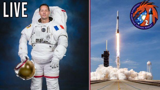 LIVE Lancement Falcon 9 : SpaceX Mission Crew-2 avec Thomas Pesquet – Expédition 65/66 vers l'ISS