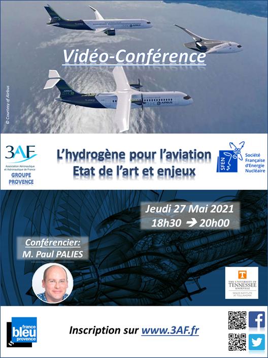 Visio-conf : 3AF Groupe Provence, en association avec la SFEN