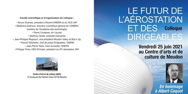 Colloque : le futur de l'aérostation à Meudon