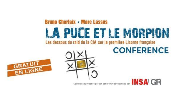 INSA ALUMNI/Conférence «La puce et le morpion»