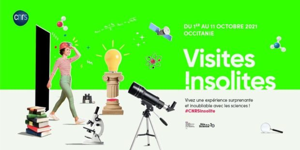 Les visites insolites du CNRS en Occitanie