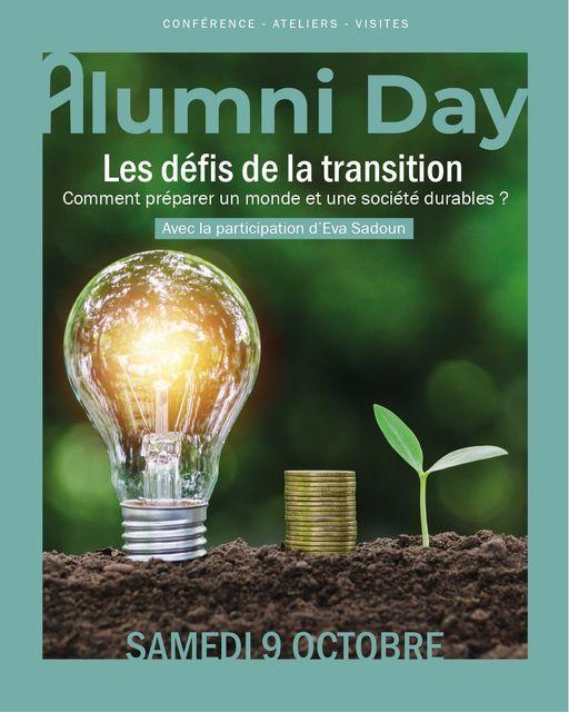 JUNIA ALUMNI DAY 2021 : les défis de la transition