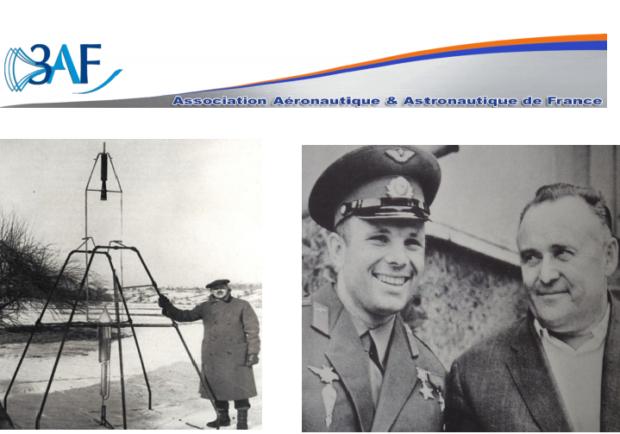 Conférence 3AF: La Compétition Spatiale URSS / USA….