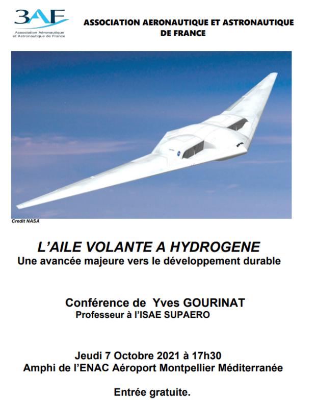 Conférence 3AFLR- «L'Aile Volante à Hydrogène»