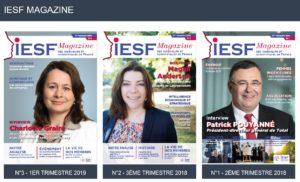 Les 3 magazines IESF en un seul clic