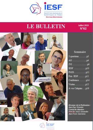 Bulletin IESF OM N° 62-Juillet 2019