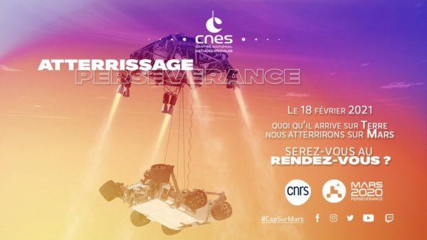 Atterrissage de Perseverance sur Mars