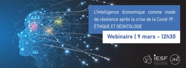 Webinaire Intelligence Économique : Ethique et Déontologie