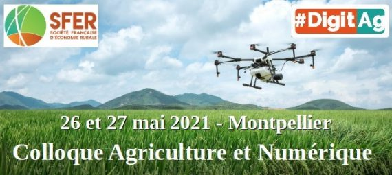 Colloque Agriculture et numérique de la SFER