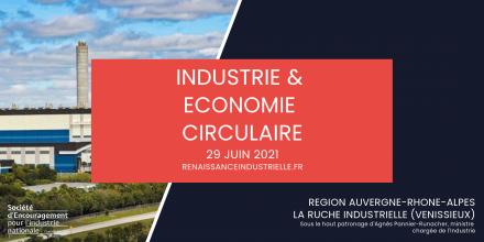 Table ronde sur l'industrie et l'économie circulaire