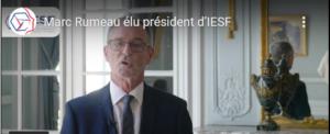 Marc RUMEAU, élu président d'IESF